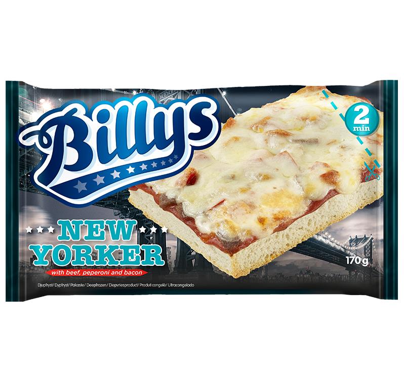 billys pan pizza kcal